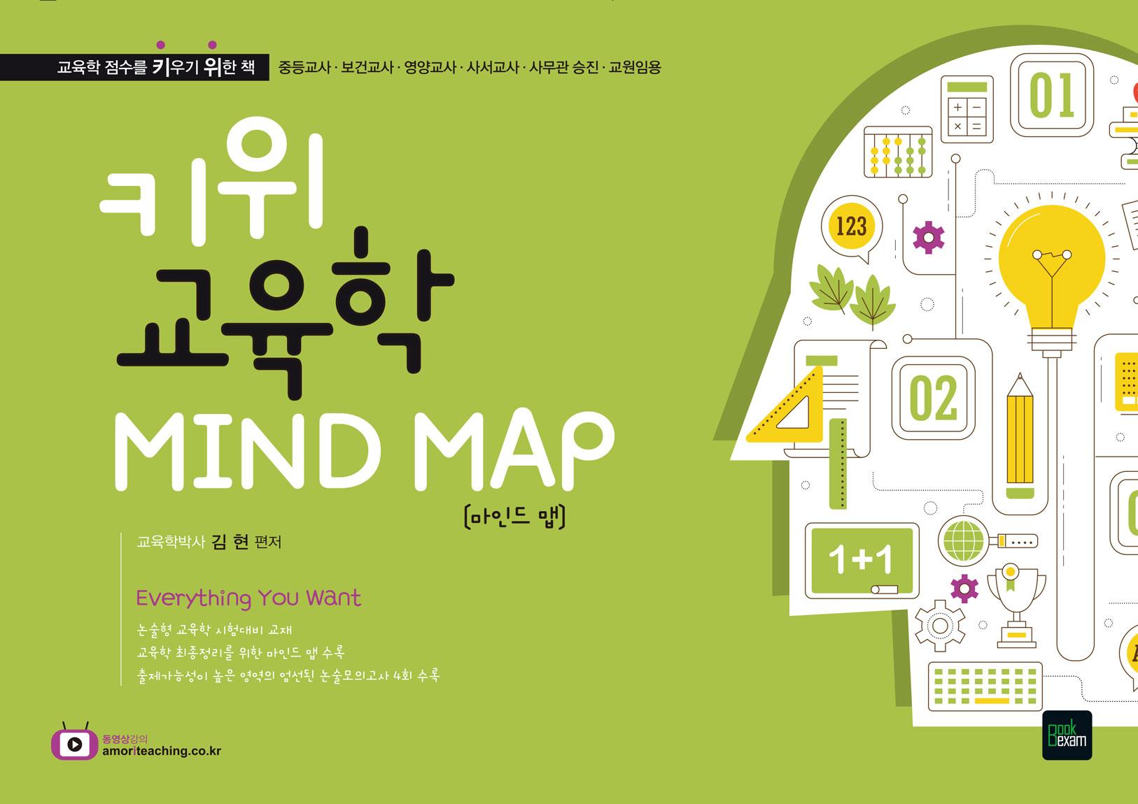 2018 키위교육학 MIND MAP ★미니수첩 증정