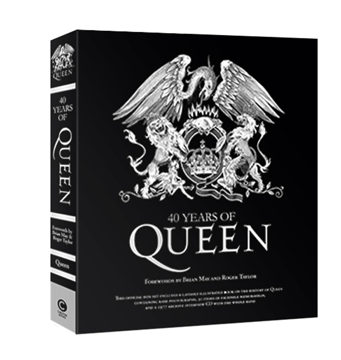 40 Years of Queen (퀸 40주년 공식 컬렉션 영문판)